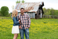 Stefanie Ellis & Chris Means-Engagement Session April 2015