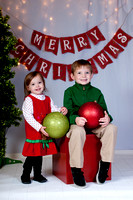 Aidan & Anna-Christmas mini session