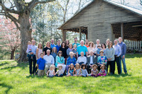 Walker 70th Anniversary-Family Session April 2017
